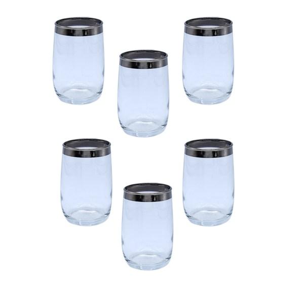 Set of 6 (six) Dorothy Thorpe Small Tumbler Glasses