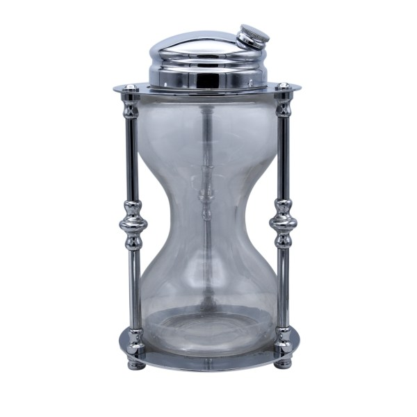 """Maxwell Phillips """"Time for Cocktails"""" Hourglass Shaker"""
