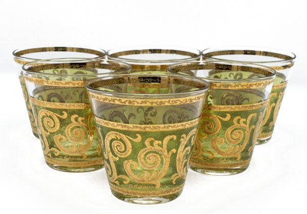 Culver Toledo Double Old Fashioned, Set of Six (6)