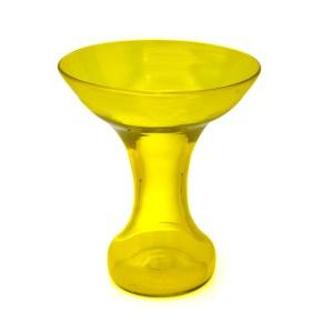 Blenko Jonquil Yellow Vase by John Husted