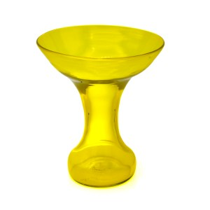 Blenko Jonquil Yellow Vase by John Husted