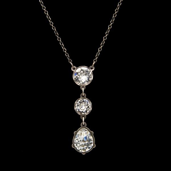 Product Photo of Revival Paste Triple Drop Necklace