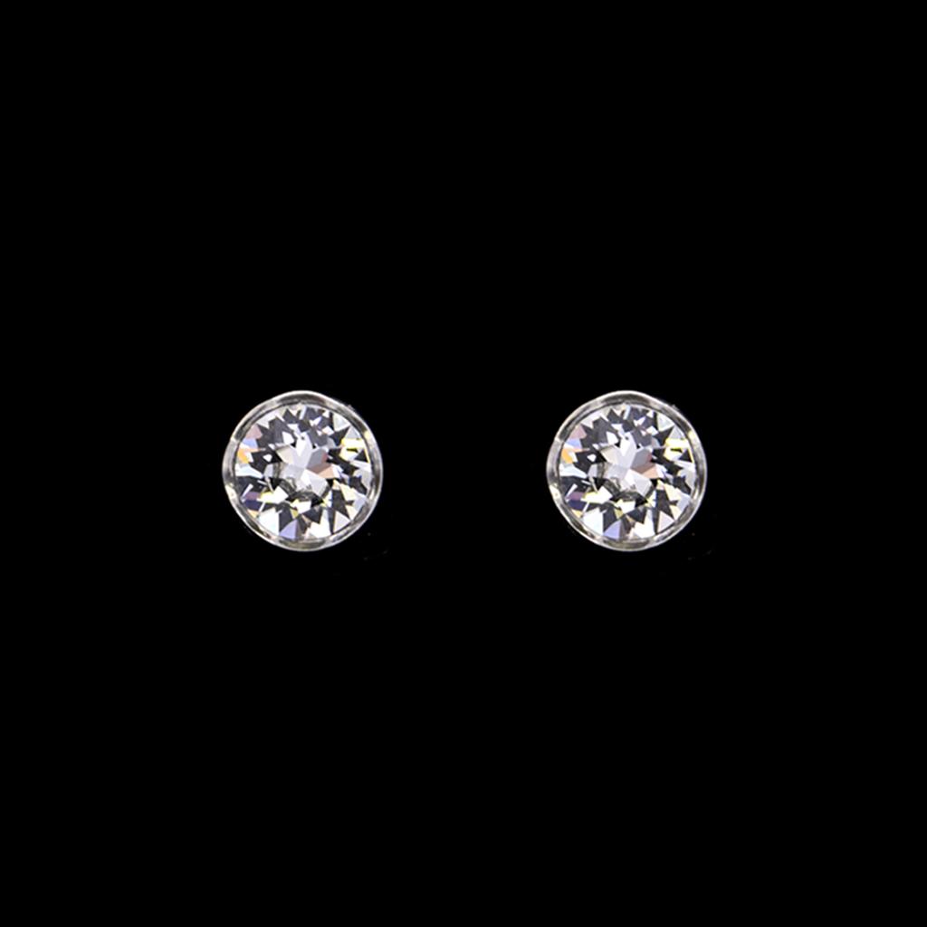 Revival Paste Sterling & 1.5 Carat Paste Earrings