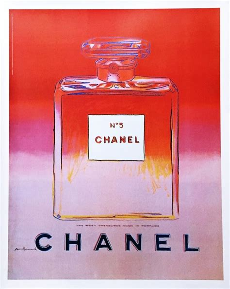 Chanel No. 5 by Andy Warhol, Pink