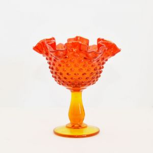 orange hobnail compote