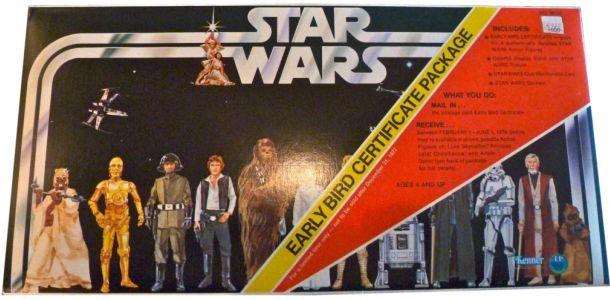 Star Wars Early Bird Certificate Package 1977