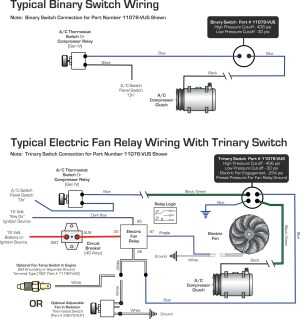 Vintage Air » Blog Archive WIRING DIAGRAMS Binary Switch