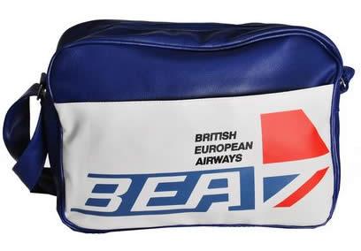 (BEA) British European Airways travel bag