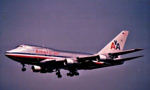 American Airlines 747sp