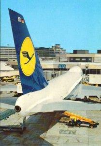 Lufthansa B747 at Frankfurt 1970s