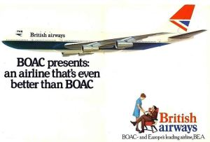 British Airways Negus Branding