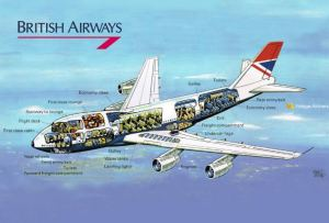 British Airways Cutaway