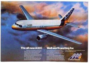 Airbus A320 Ad 1980s