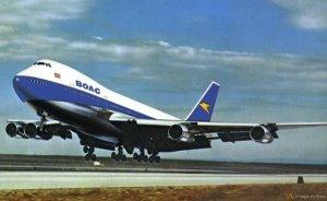 BOAC Boeing 747-100 Promo Photo