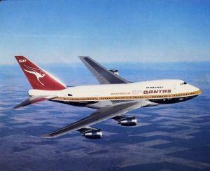 Qantas Boeing 747SP ~VH-EAA
