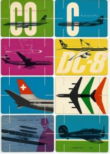 Swissair promotion the 1960s
