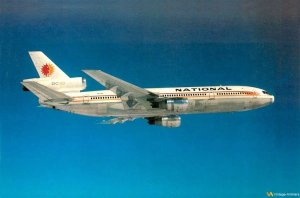 National Airlines Douglas DC-10 in Flight