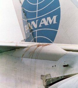 Pan Am 747 Empennage