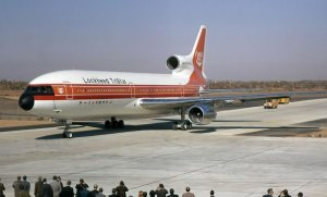 Lockheed L-1011 First Flight