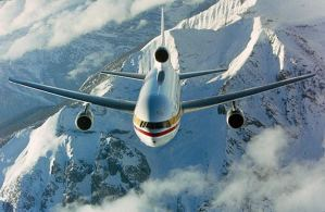 a Lockheed TriStar L-1011 Test Flight