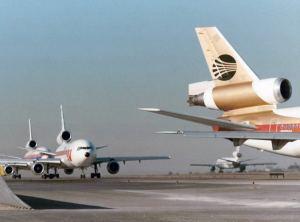 Classic Scene at LAX 1970s