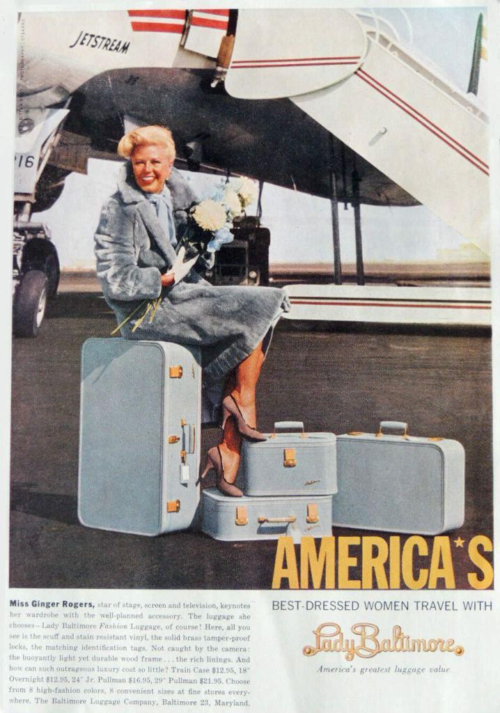 Lady Baltimore Vintage Luggage