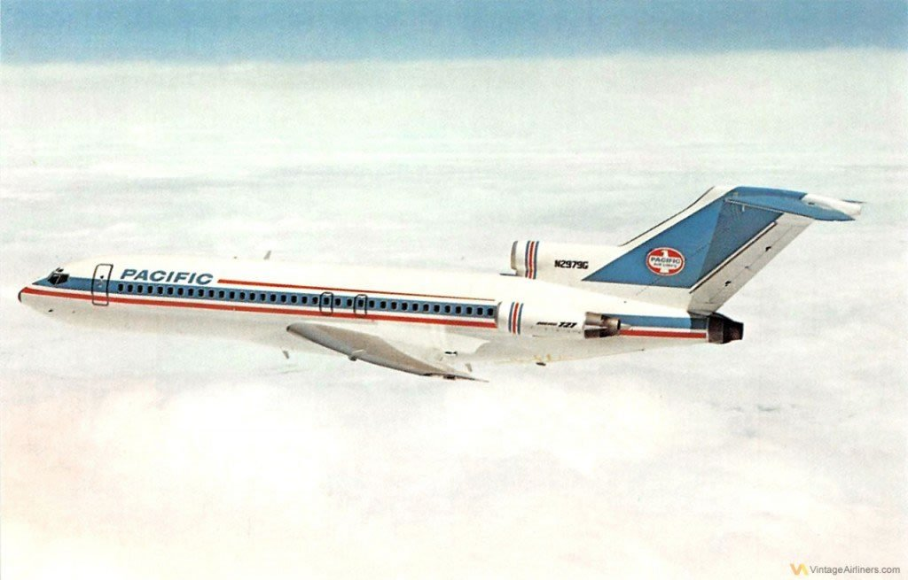 Pacific Air Lines 727