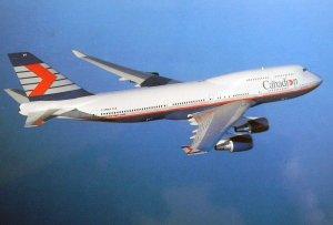 Canadi>n Airlines Boeing 747-400