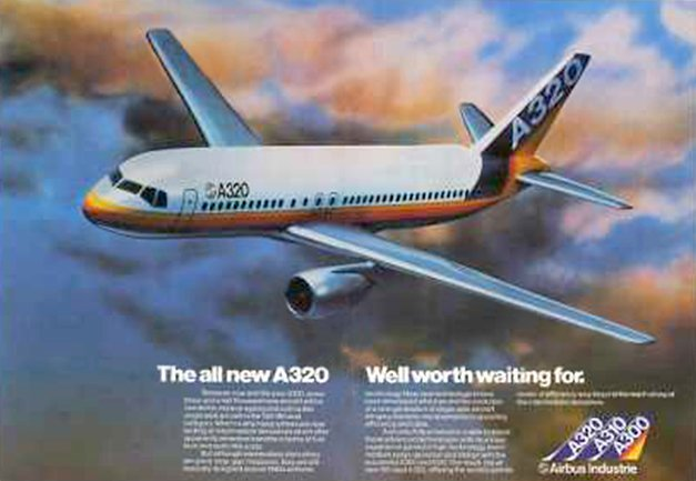 Airbus A320 Advert, 1980's