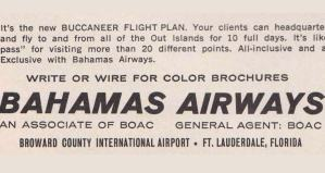 Bahamas Airways 1960s