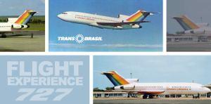 Flight Experience: Trans Brasil 727 Guarulhos to Brasilia