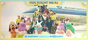 "Walt Disney World Eastern Airlines ""The Wings of Man"" Commercial (VIDEO)"