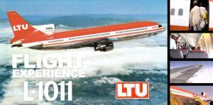 Flight Experience – LTU L-1011 Düsseldorf to Larnaca