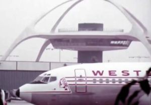 Classic LAX Airport in 1972 Datsun Car Commercial