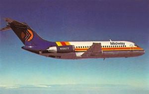 Midway Airlines DC-9-15 (+VIDEO)