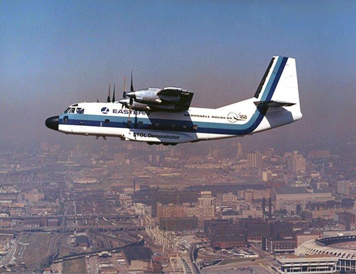 Breguet 941 - McDonnell 188 STOL (+VIDEOS)