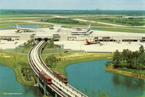 Orlando International Airport MCO Early 1980s