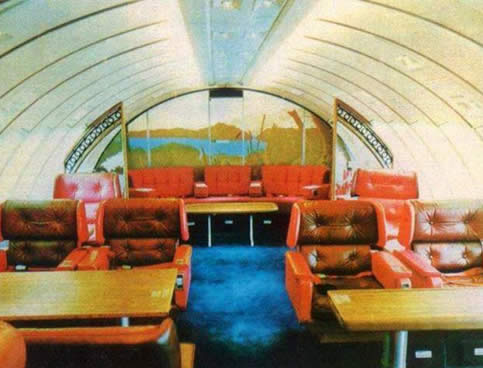 B747 Upper Deck Lounge Trivia