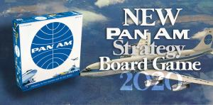 Pan Am Strategy ? Board Game – (New 2020!)