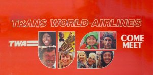 TWA Trans World Airlines – Come Meet U.S. Record Soundtrack