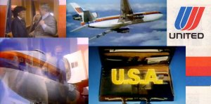 United Airlines Commercials from the 1980s