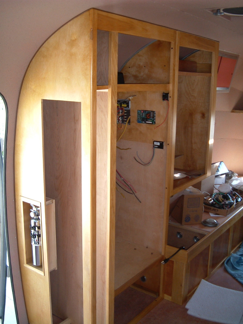 Cabinets Curbside Vintage Airstream