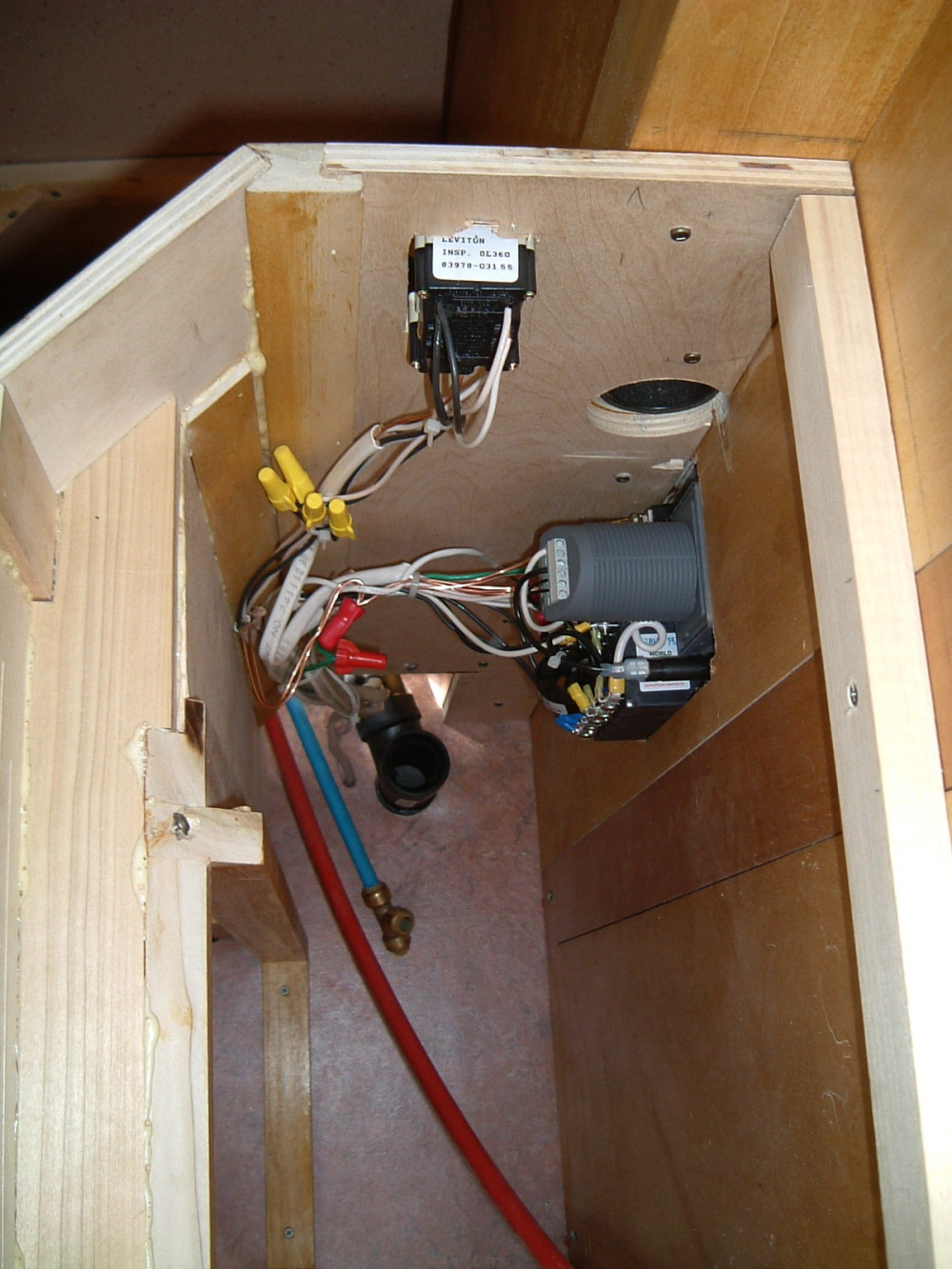 Cabinet Electrical Outlet Box | Savae.org