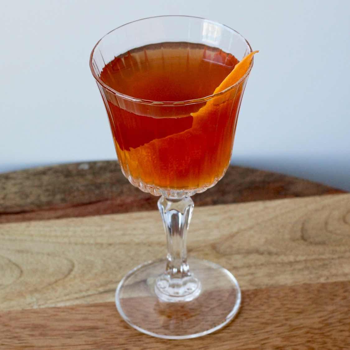 Avenue Cocktail - Original 1937 Royal Cafe Recipe