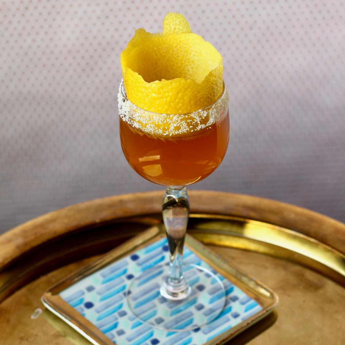 Brandy Crusta - Classic 1862 Jerry Thomas Recipe