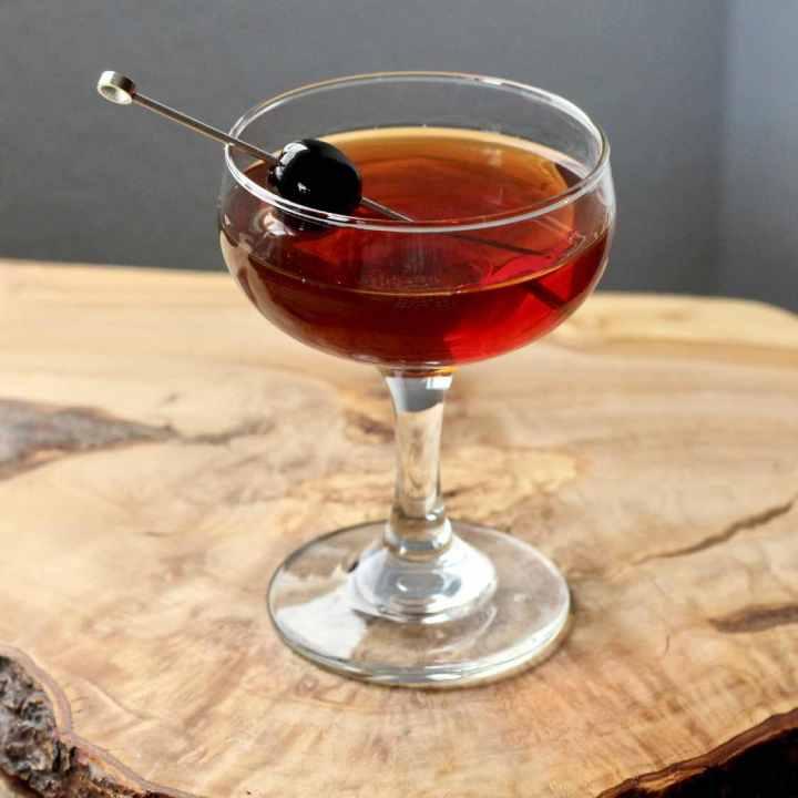 Manhattan Cocktail Post-prohibition Style