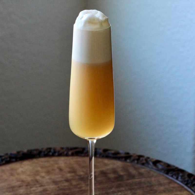 Brandy Fizz Cocktail