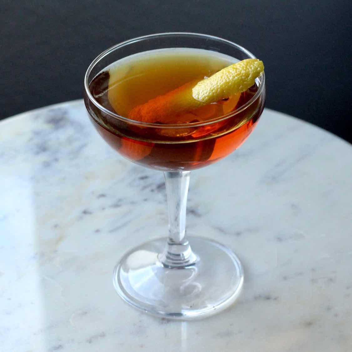 Pre-Prohibition Manhattan Cocktail | Original 1880 - 1920 Recipe