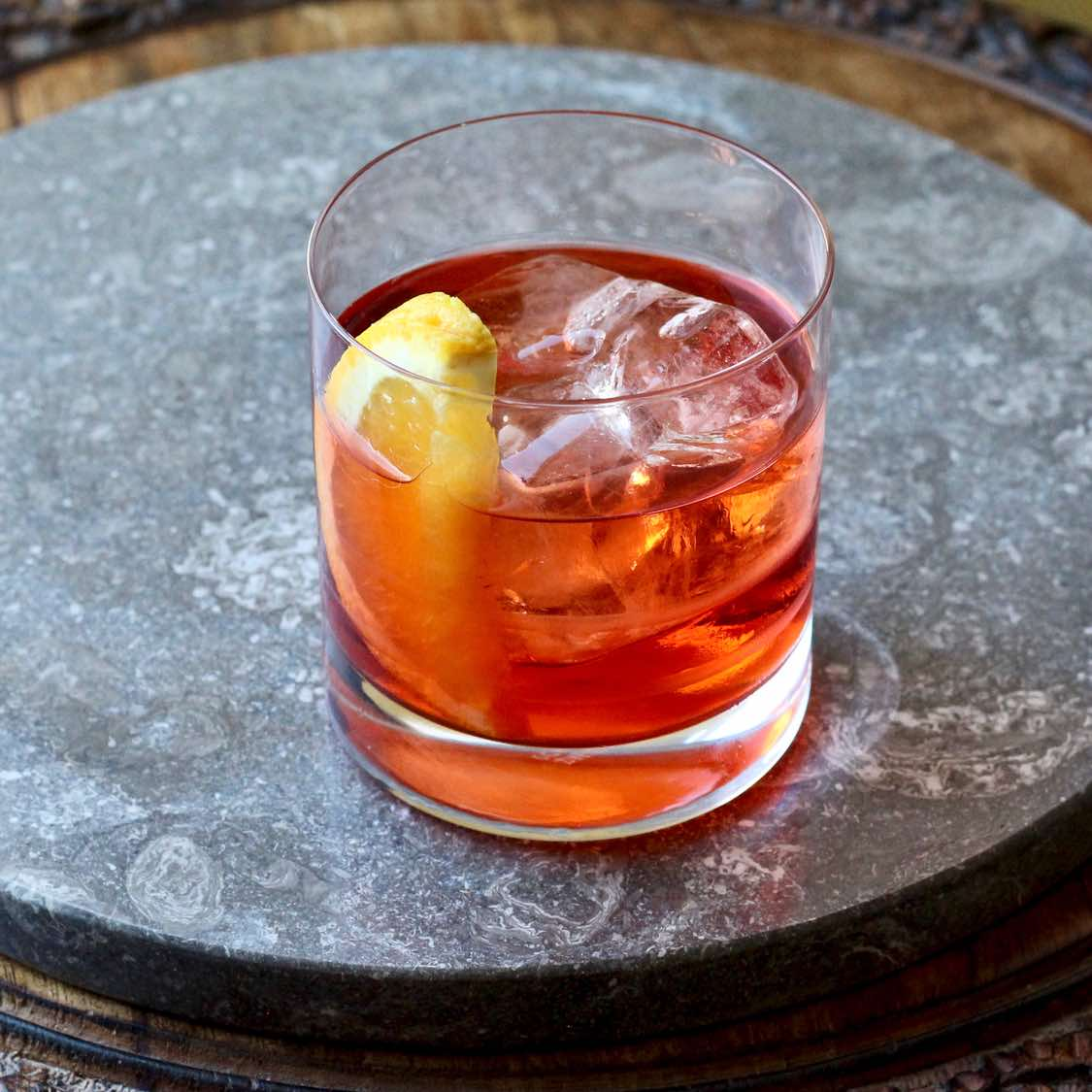Negroni Cocktail - Classic 1917 Recipe from Florence, Italy