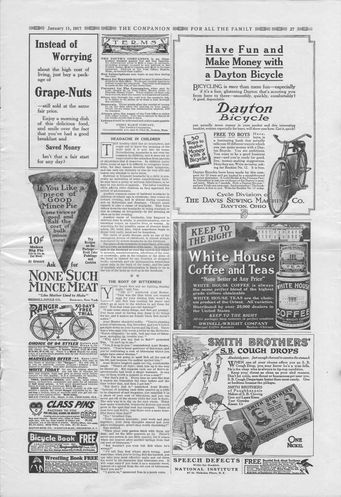 The Youth's Companion - January 11, 1917 - Page 27